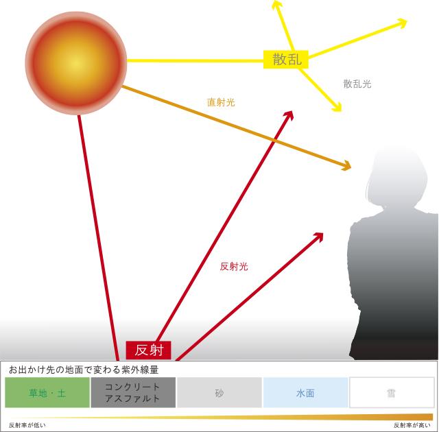 紫外線反射率